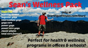 Build a healthy & fit team with Sean's Wellness Pack!