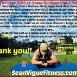 Happy New Year from Sean Vigue Fitness!