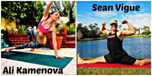 Do Yoga with Ali Kamenova and Sean Vigue!