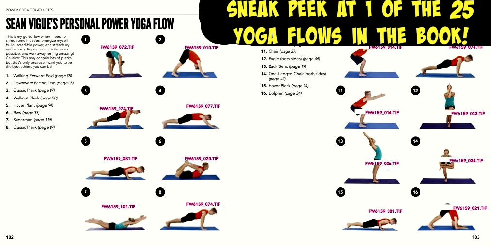 Power Yoga For Athletes Sean Vigue Fitness