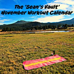 Your November Workout Calendar is here!