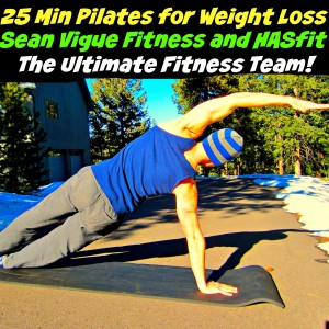 "New ""Pilates for Weight Loss"" video from Sean Vigue Fitness on HASfit's Channel!"
