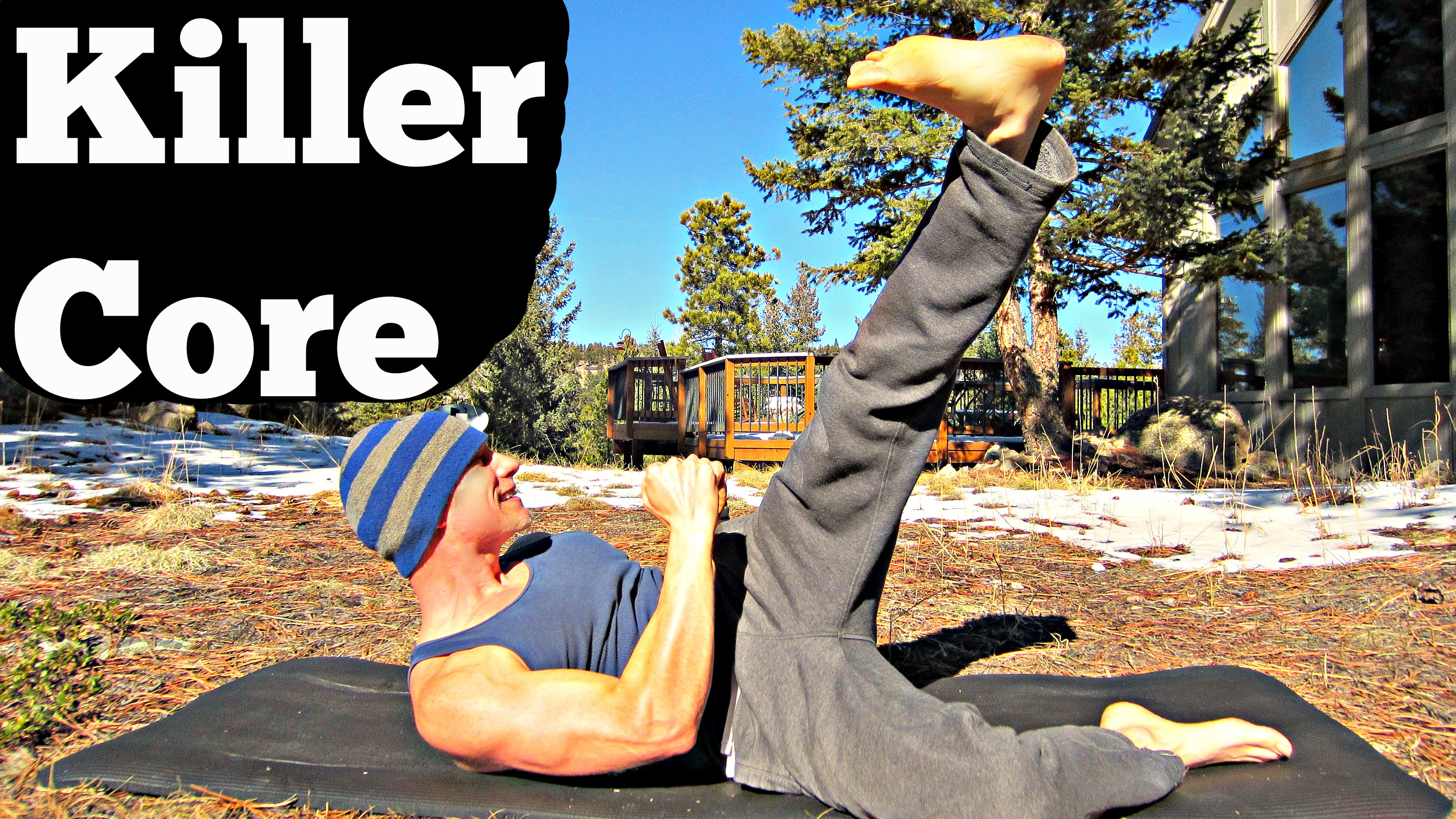 ... Core Workout Video! Welcome to 10 Minutes of Muscle Shredding Bliss!