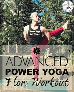 Check out my all levels Power Yoga series for Fit Bottomed Girls!