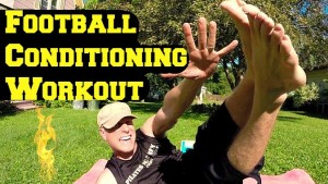 Your Complete Football Conditioning Workout series just in time!