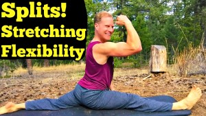 how to do the splits  full 20 minute stretching and